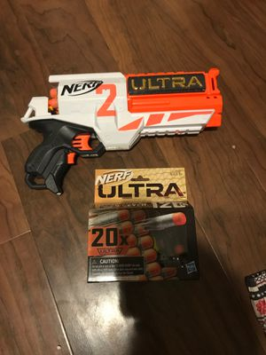 Nerf gun Ultra + darts for Sale in Tulare, CA
