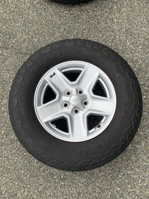 Jeep Wrangler/Gladiator wheels+tires