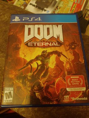 Doom eternal ps4 for Sale in Houston, TX