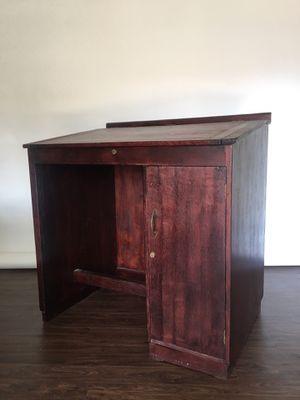 Vintage Upright Drafting Desk for Sale in Houston, TX
