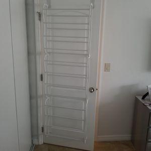 Over the door shoe rack (set of 2 full doors) for Sale in North Miami Beach, FL