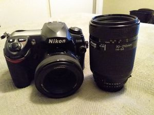 Nikon D200 with lenses for Sale in Montclair, CA