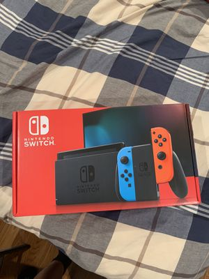 Neon and red Nintendo switch for sale for Sale in Potomac, MD
