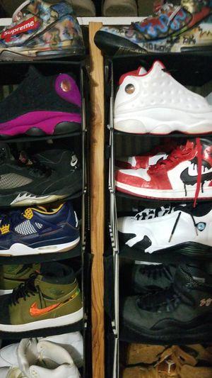 Jordan retro supreme shoes lot af1 for Sale in Orland Park, IL