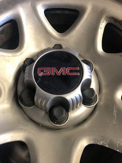 265/70/17 Dueler GMC 4 tires and wheels for Sale in Seattle,  WA