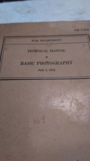 Army manual photography for Sale in Hyattsville, MD