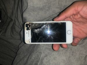 iPhone 5 everything works screen is just badly damaged for Sale in Philadelphia, PA