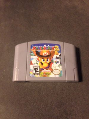 Mario Party 2 n64 for Sale in Shelby charter Township, MI