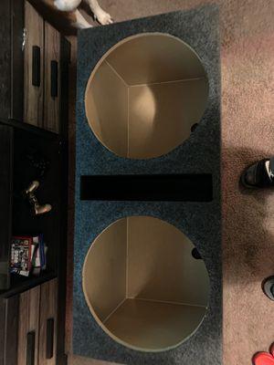 "Dual 15"" speaker box for Sale in Longview, TX"