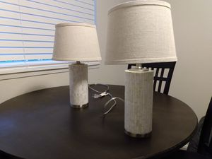 Pair of lamps. for Sale in Renton, WA