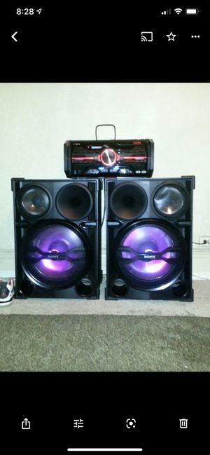 Home Stereo System, (Light Show) & LOUD!! for Sale in The Bronx, NY