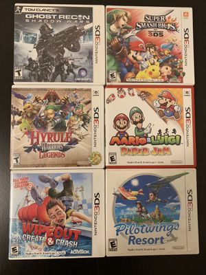 Nintendo 3DS games for Sale in Los Angeles, CA