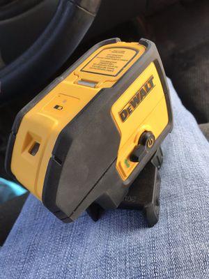 Dewalt 3 beam laser pointer for Sale in Dallas, TX