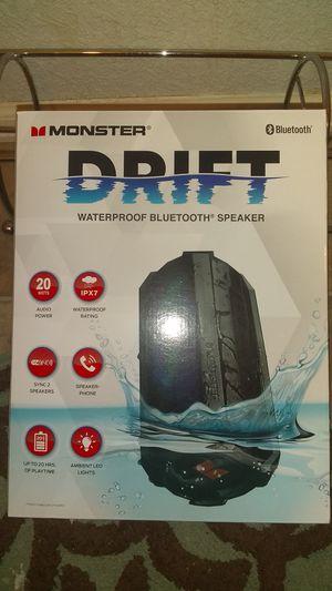 Monster Drift Bluetooth Speaker for Sale in Golden, CO