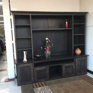 8ft Entertainment Unit - Real Wood for Sale in San Diego, CA
