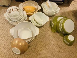 VINTAGE PYREX DISHES for Sale in Salt Lake City, UT