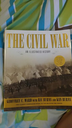 The Civil War; an Illustrated History book Ken Burns for Sale in Indianapolis, IN