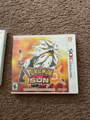 Pokemon sun nintendo 3ds for Sale in Chula Vista, CA