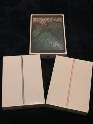 Apple NEW Ipad 6th Gen Generation, Air, Or Pro 32gb 128gb 256gb Space Gray Wifi Tablet for Sale in Doral, FL