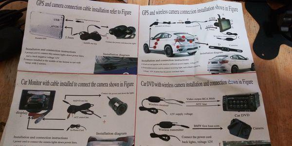 Rear view camera kit (wireless!)
