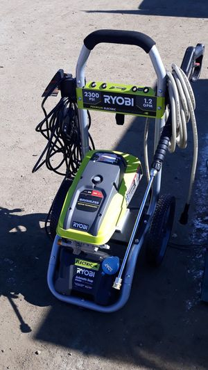 Ryobi Electric-powered Pressure washer RY142300 for Sale in Bakersfield, CA