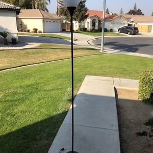 VENMO ONLY Black Floor Lamp for Sale in Bakersfield, CA