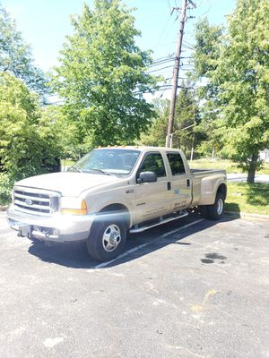 2001 f350 7.3L crew cab dually for Sale in Brooklyn Park, MD