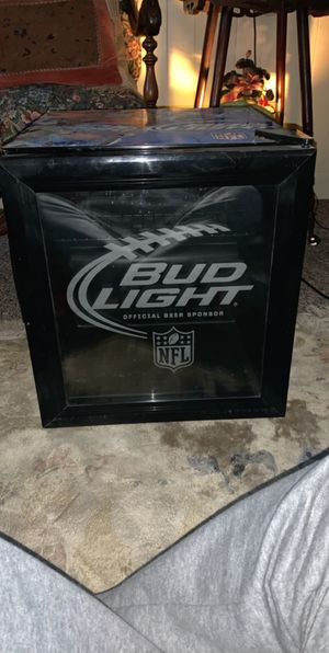 NFL bud light, light up cooler for Sale in Warwick, RI