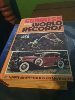 Guinness Book Of World Records 1976 for Sale in Sanger, CA