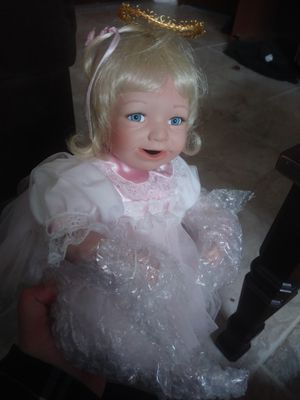 Antique porcelain doll for Sale in Auburn, WA