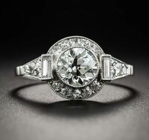 Classic 925 Sterling Silver Ring with 3ct. Moissanite for Sale in Wichita, KS