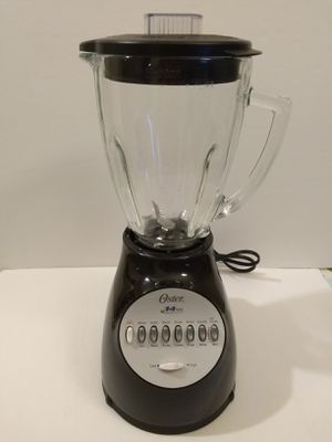 Oster Blender 14 Speed with Glass Jar 6694-B Black 450 W Ice Crusher Blade for Sale in Arlington, VA