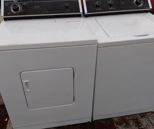 SUPER STRONG HEAVY DUTY WASHER DRYER SET PRICE FIRM for Sale in Riviera Beach, FL