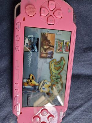 PINK * PSP * WITH 5,000 GAMES !!! for Sale in Garden Grove, CA