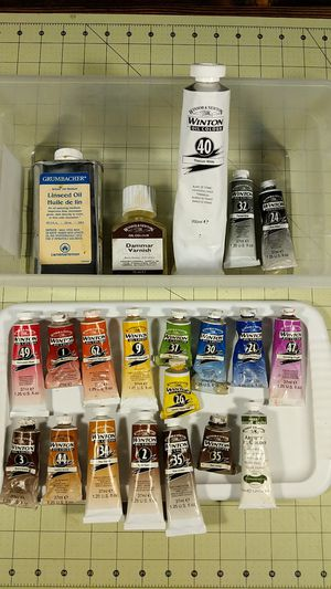 Student grade oil painting supplies for Sale in Tacoma, WA