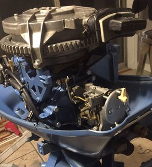 Evinrude 18hp FastTwin. Excellent condition. Must see for Sale in Elkins, AR