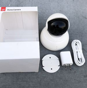(New in box) $30 YI Dome Camera Full Motion Tilt/Zoom, 720p HD Wi-Fi IP (2.4GHz) Security Surveillance for Sale in Downey, CA