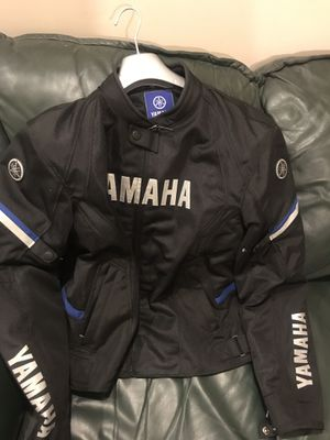 Yamaha jacket motorcycle jacket for Sale in Germantown, MD
