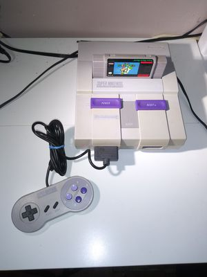 Super Nintendo w/game for Sale in Lake Alfred, FL