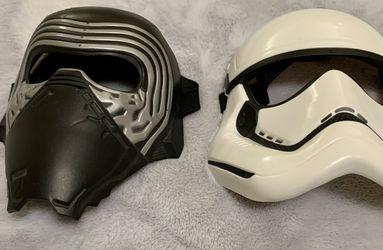 Pair Of Kids Star Wars Masks for Sale in Redmond,  WA