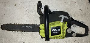 Ryobi chainsaw. Used working. Needs sharpening. Only 70$ for Sale in Gloucester City, NJ
