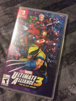 Marvel Ultimate Alliance 3 The Black Order Nintendo Switch for Sale in Los Angeles, CA