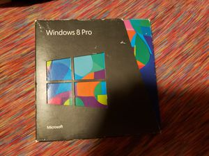 Windows 8 pro disks and key for Sale in Everett, WA