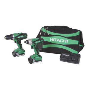 Hitachi 2-Tool 18-Volt Lithium Ion Power Tool Combo Kit (Charger Included and 2-Batteries Included) for Sale in Triangle, VA