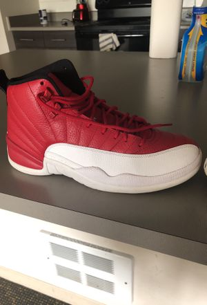 Jordan 12s red and white. Only worn like 3 times. Great condition for Sale in Seattle, WA