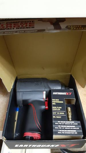"Earthquake EQ12XT 1/2"" Air Impact Wrench for Sale in Pompano Beach, FL"