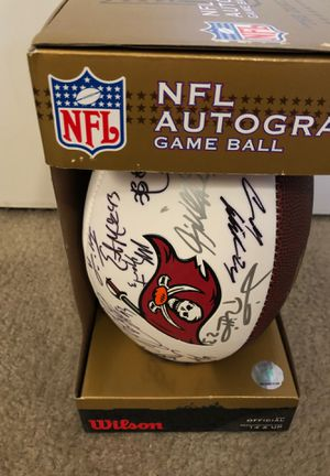 NFL Bucs autographed football for Sale in Tampa, FL