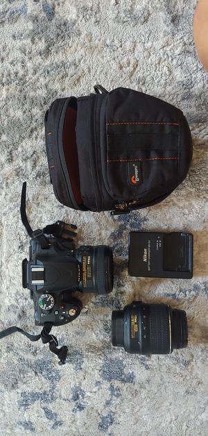 Nikon D5100 Bundle for Sale in Mililani, HI