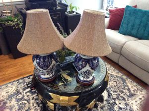 2 Chinese lamp for Sale in Fort Belvoir, VA