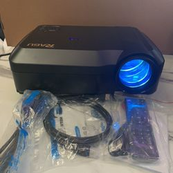 RAGU LED 2800 lumens Home Theater Projector 1280x768, Home Projector Support 1080P Video for Home Movie for Sale in Ontario,  CA